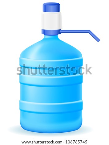 water cooler vector illustration isolated on white background