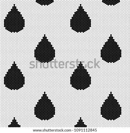 stock-vector-water-drop-pattern-vector-tile-background-raindrop-geometric-texture-black-and-white-color