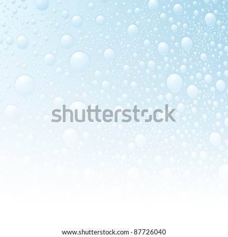 water drop wet background