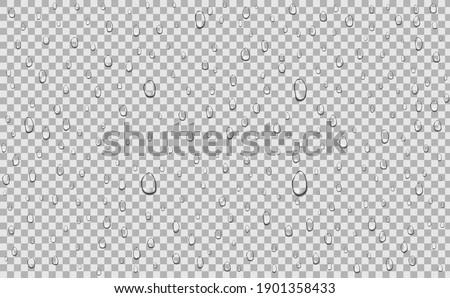 water drops liquid on