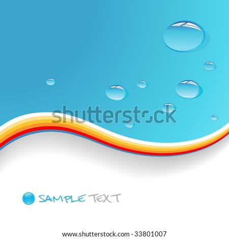 blue background vector. on lue background. Vector