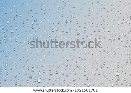 water drops realistic rain