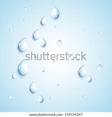 Water Design Vector Water Drops Vector