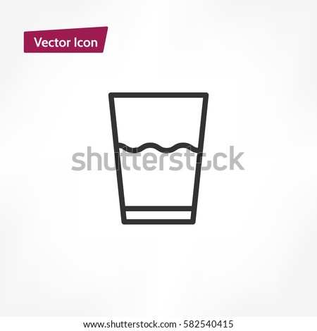 water glass icon