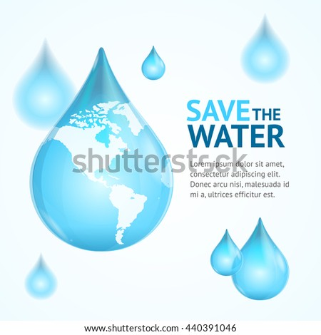 water globe save concept card