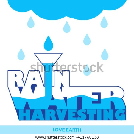 water is life save it rainwater
