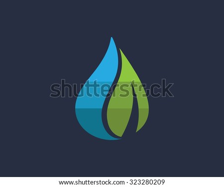 water leaf logo