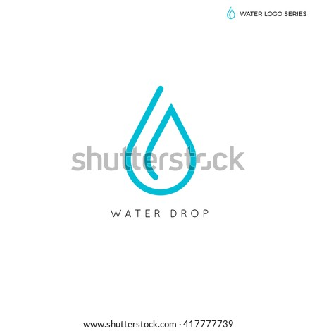 water logo blue best aqua