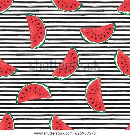 water melon seamless pattern