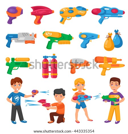 water pistols for children set
