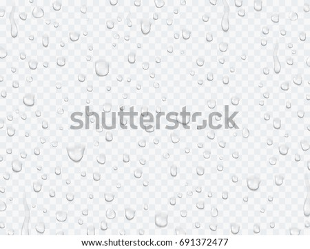 water rain or shower drops