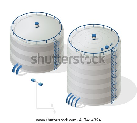 water reservoir isometric