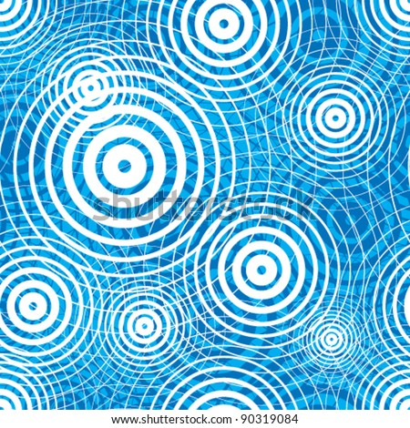 water ripple seamless pattern