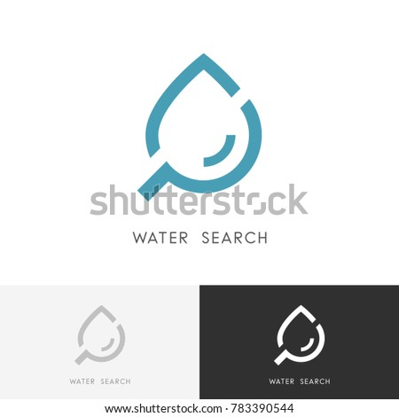 water search logo   drop of