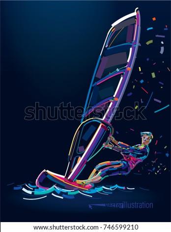 water sports windsurfing