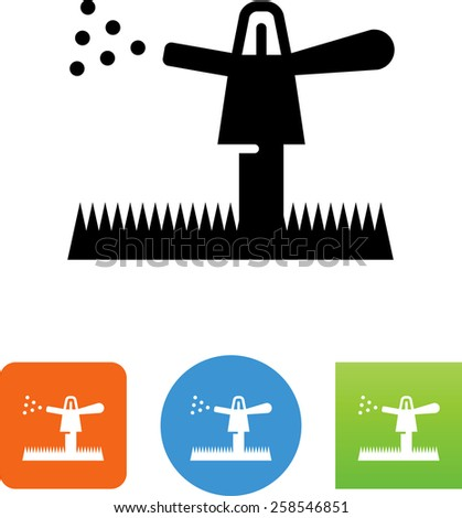water sprinkler symbol for