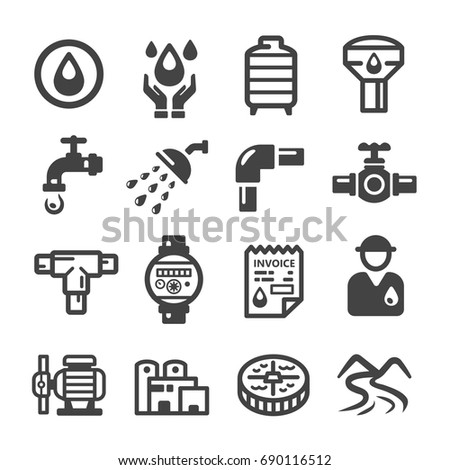 water supply,plumbing icon