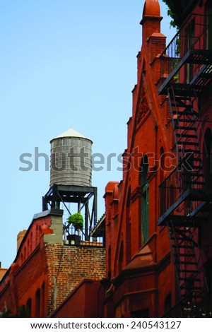 water tank on the new york