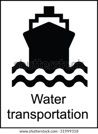 Water Transportation Public Information Sign