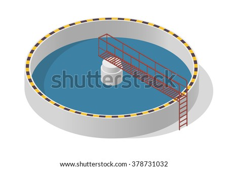 water treatment isometric