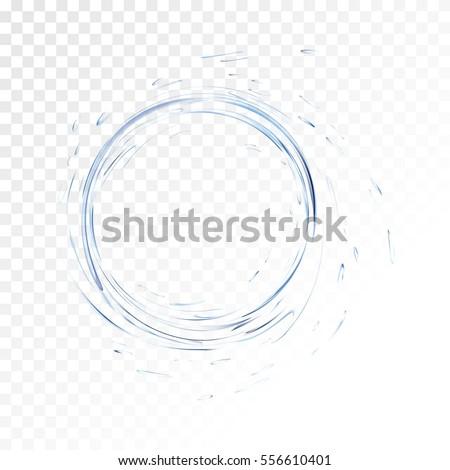 water vector splash isolated on