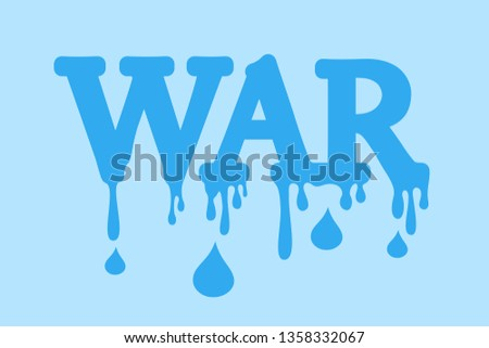 water war   military conflict