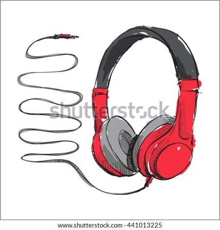 watercolor accessoryheadphones