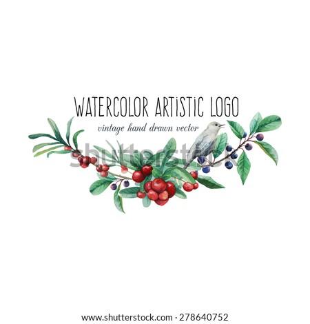 watercolor artistic wild