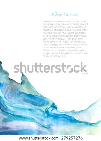 watercolor background colorful