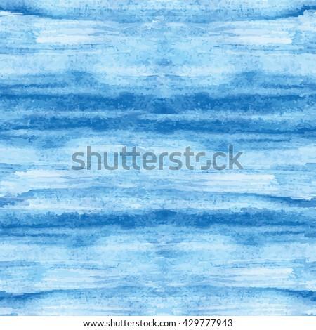 watercolor blue  blot stain