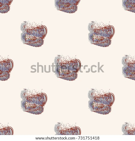 watercolor cloud smear seamless