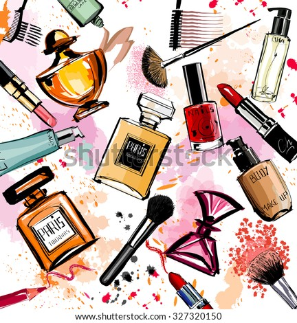 watercolor cosmetics and
