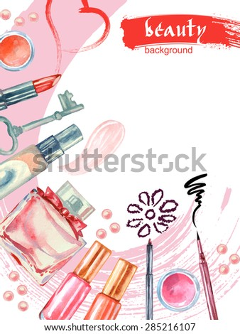 watercolor  cosmetics