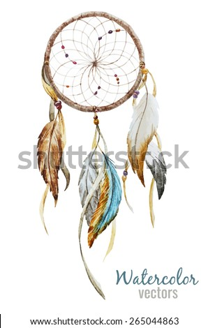 watercolor  dreamcatcher  boho
