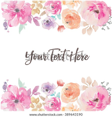 stock-vector-watercolor-flower-vector-background-border