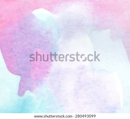 watercolor pastel violet pink