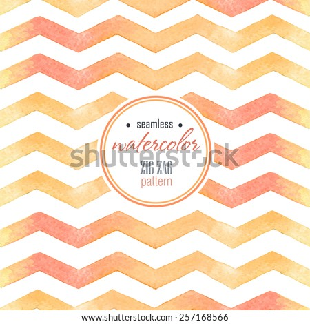 watercolor red  yellow striped