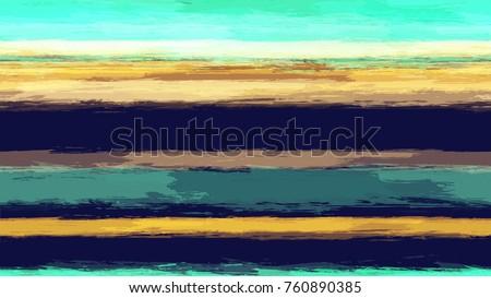 watercolor striped fashion