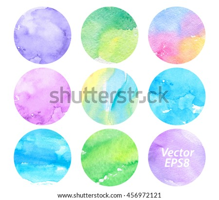 Pink Violet Free Vector Watercolor Texture - Download Free