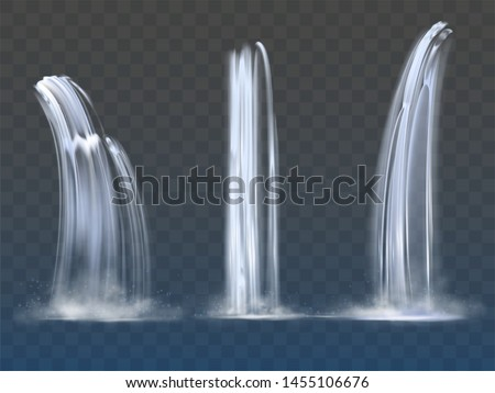 waterfall cascade  realistic