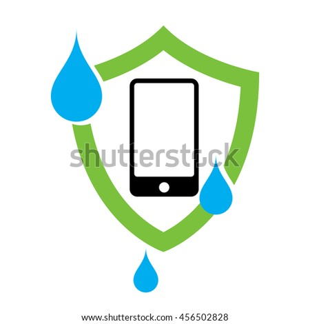 waterproof phone case icon