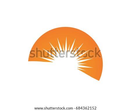 Sun Symbol Logo Download Free Vector Art Stock Graphics Images