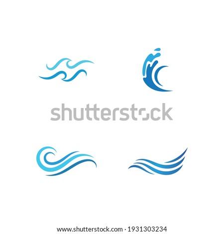 wave beach vector illustration