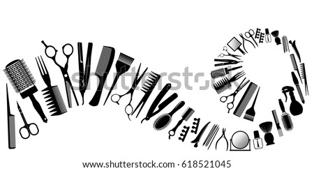 realistic hair dryer salon download free vector art stock
