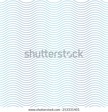 Wave line seamless background
