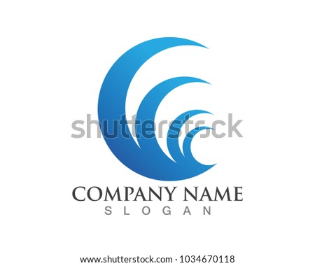 wave logos and symbols template ez canvas