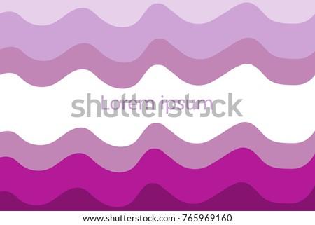 wave minimalist abstract design