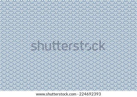 Wave Pattern Vector Design