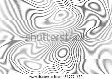 Wave Stripe Background - simple texture for your design. EPS10 vector. - Shutterstock ID 519794632