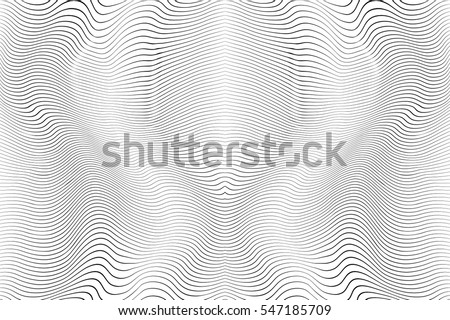 Wave Stripe Background - simple texture for your design. EPS10 vector. - Shutterstock ID 547185709